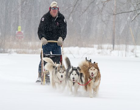 Starved Rock Lodge Husky Seminar and Sled Demo